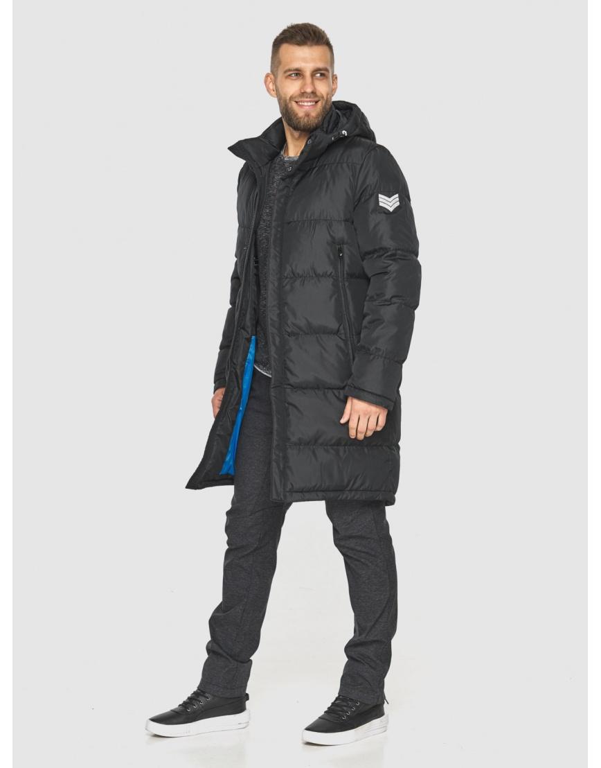 Зимняя куртка с манжетами мужская Tiger Force чёрная 2813 фото 3