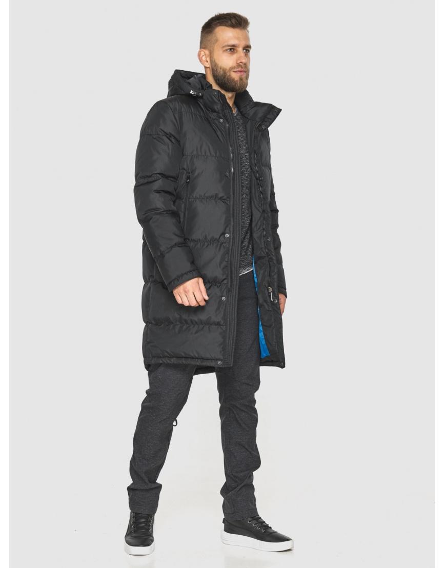 Зимняя куртка с манжетами мужская Tiger Force чёрная 2813 фото 2