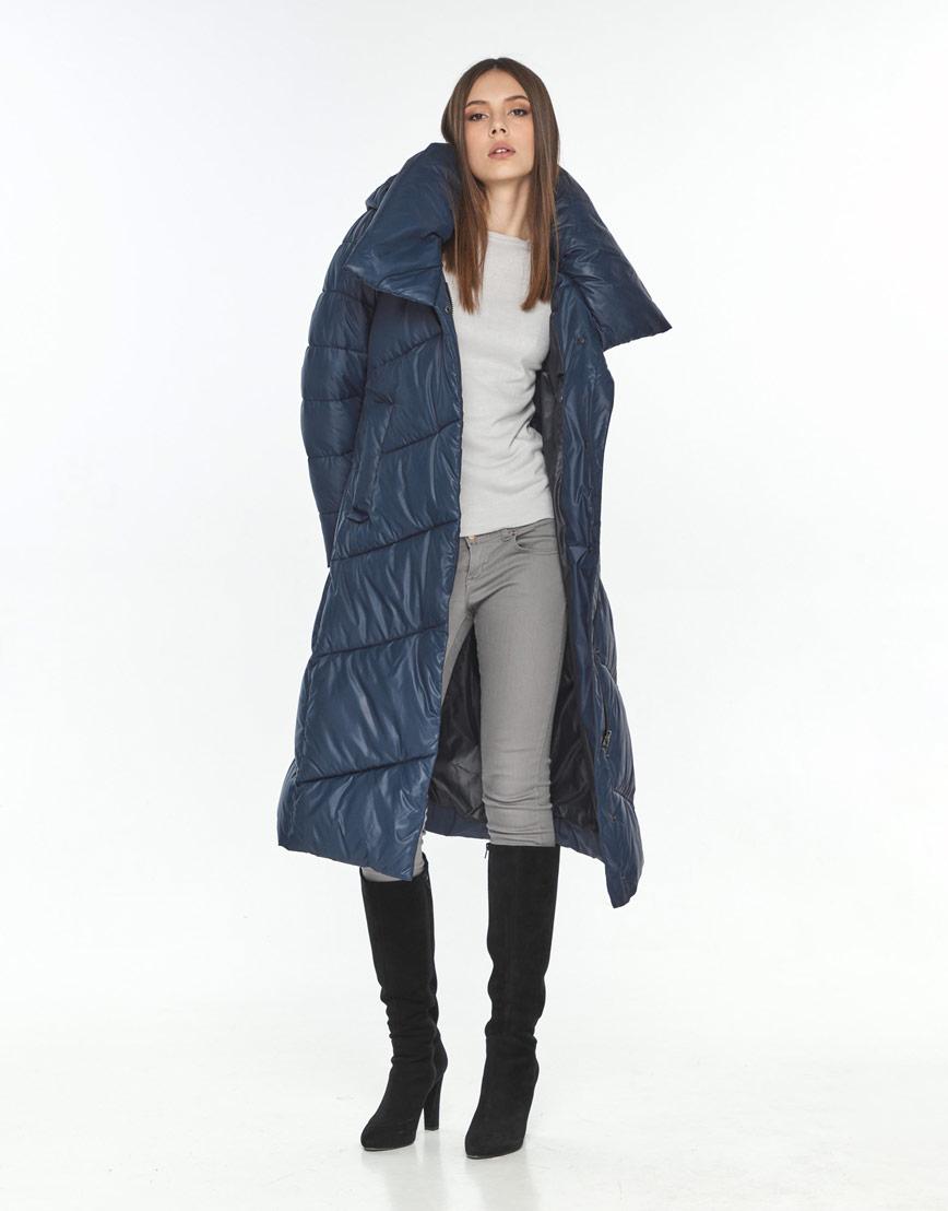 Куртка на подростка зимняя Wild Club синяя удобная 514-35 фото 1