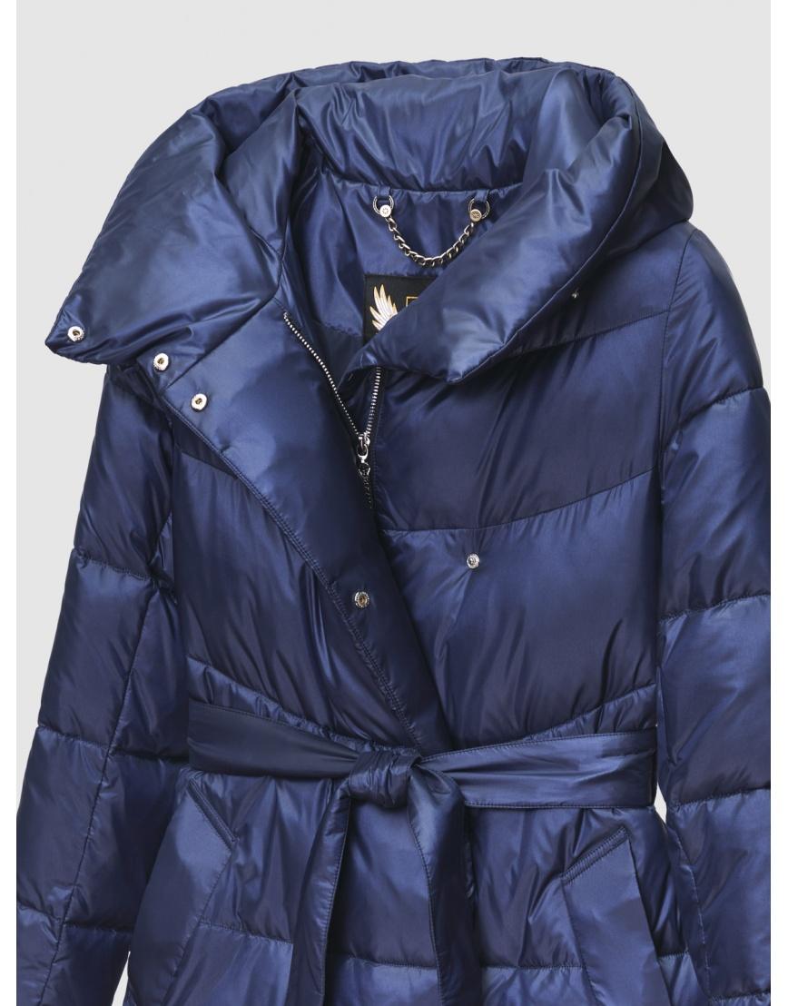 40 (3XS) – последний размер – куртка зимняя синяя длинная женская Braggart 200060 фото 3