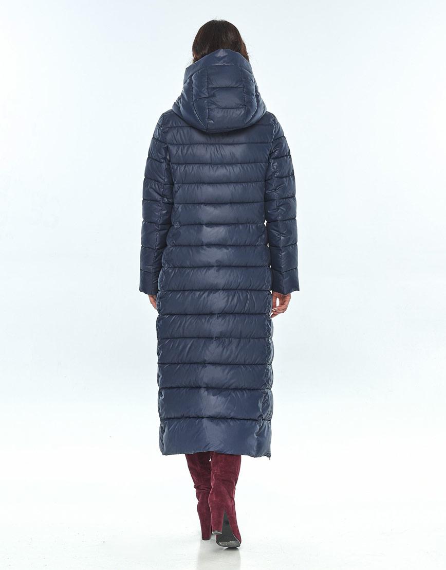 Удобная синяя куртка Vivacana женская зимняя 8320/21 фото 3