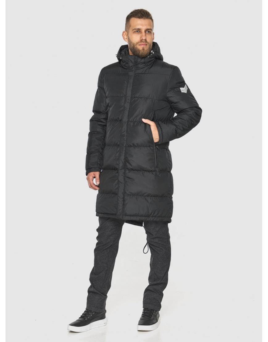 Зимняя куртка с манжетами мужская Tiger Force чёрная 2813 фото 6