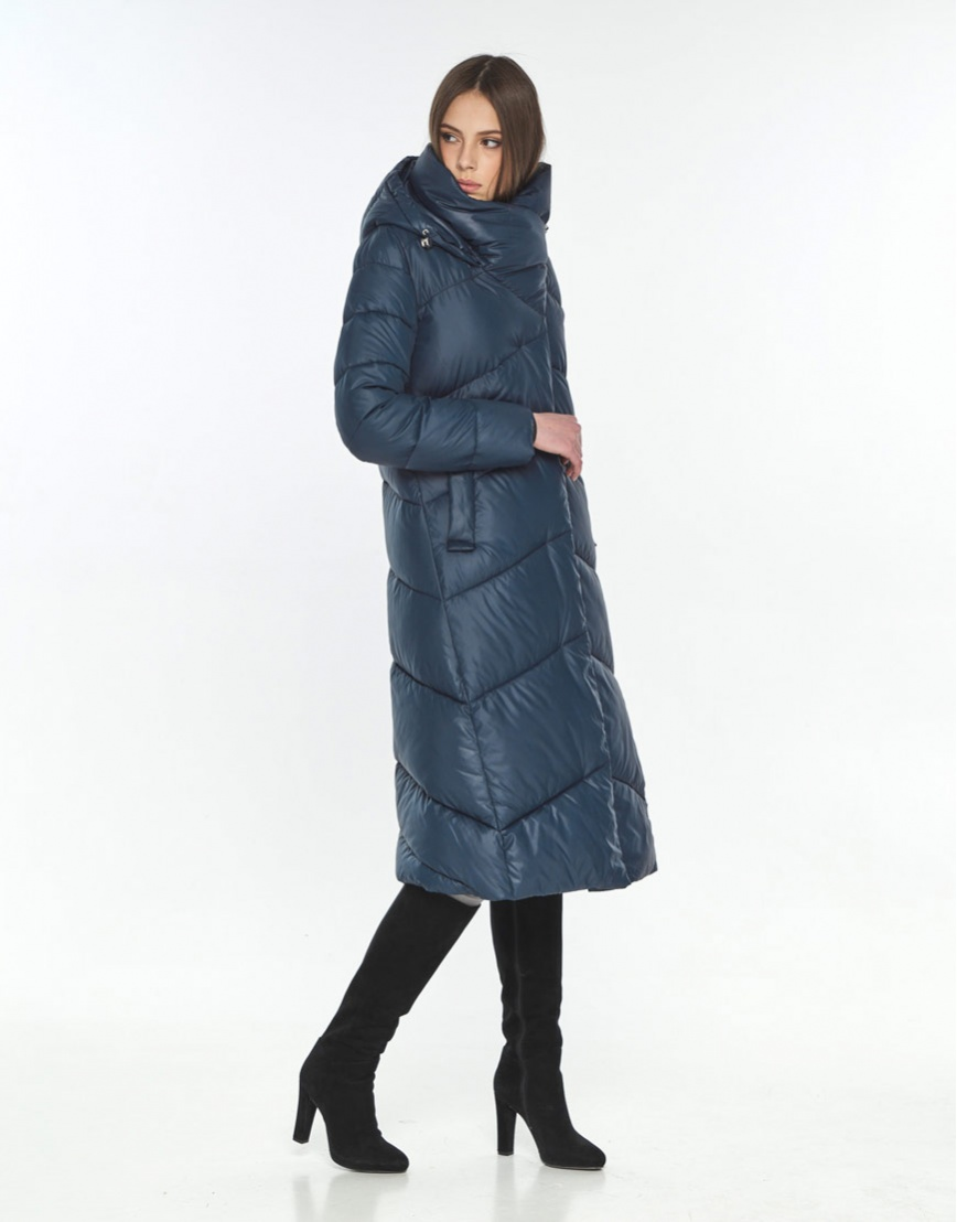 Куртка на подростка зимняя Wild Club синяя удобная 514-35 фото 2