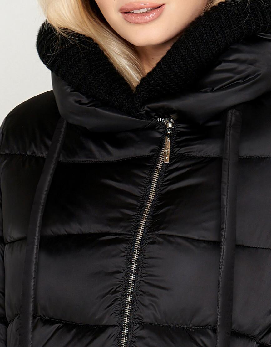 Женский воздуховик зимний Braggart цвет черный модель 27005 оптом