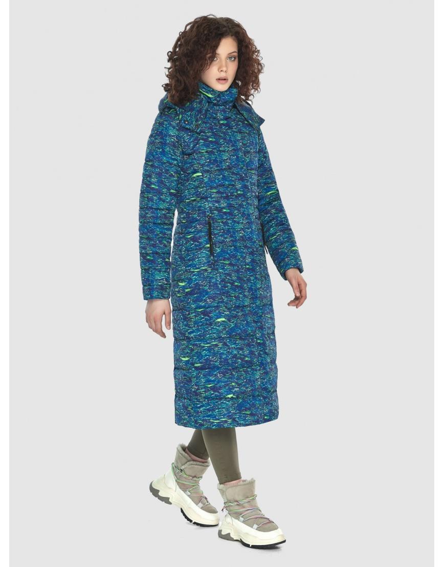 Куртка женская Moc длинная с рисунком M6430 фото 1