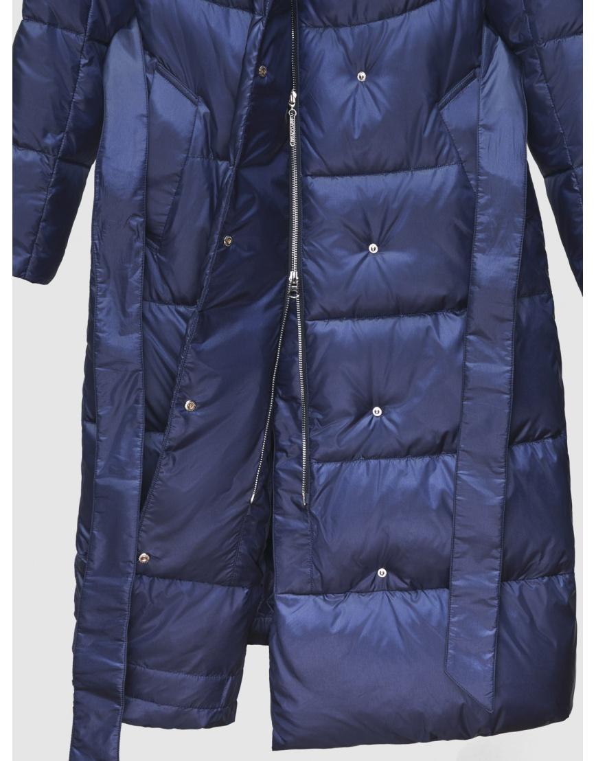 40 (3XS) – последний размер – куртка зимняя синяя длинная женская Braggart 200060 фото 4