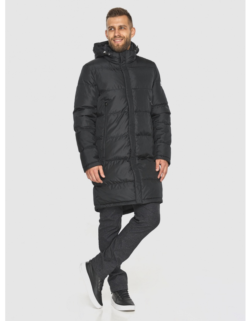 Зимняя куртка с манжетами мужская Tiger Force чёрная 2813 фото 1
