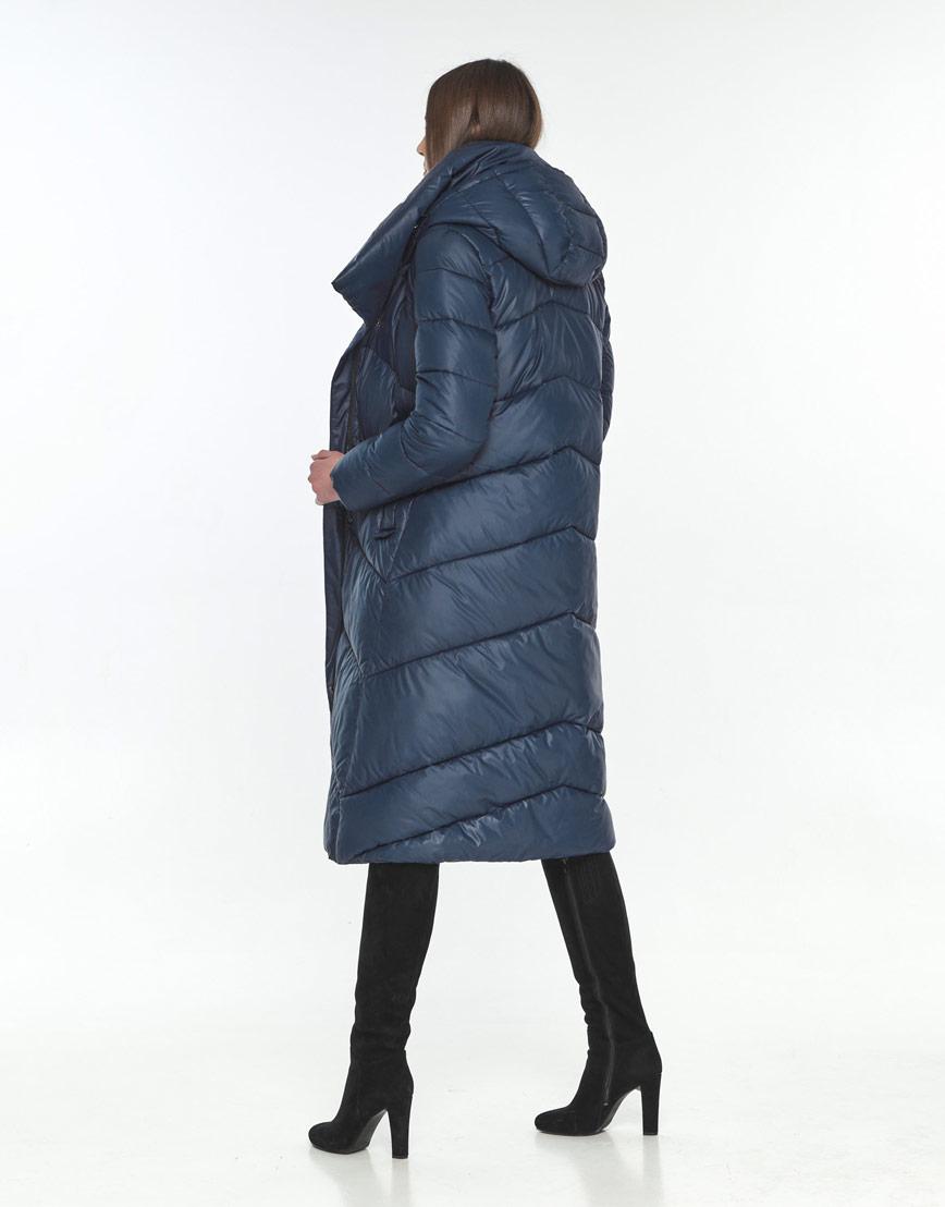 Куртка на подростка зимняя Wild Club синяя удобная 514-35 фото 3