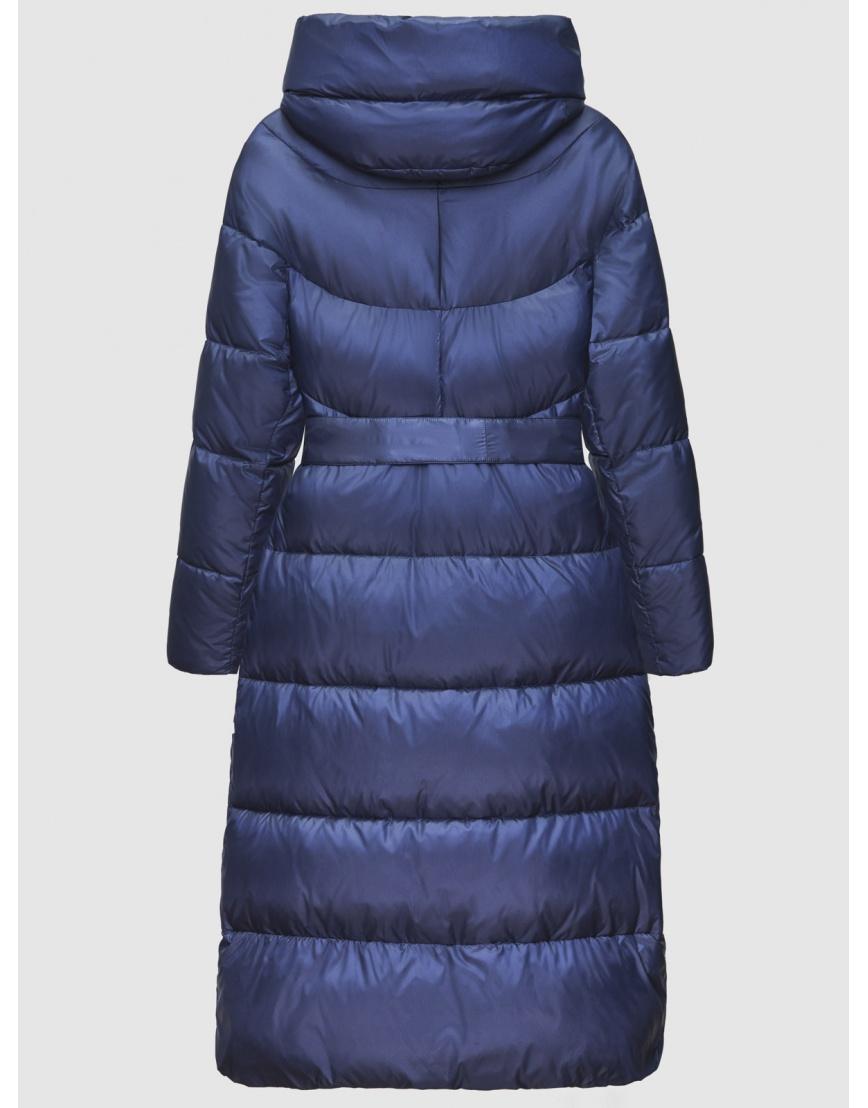 40 (3XS) – последний размер – куртка зимняя синяя длинная женская Braggart 200060 фото 2