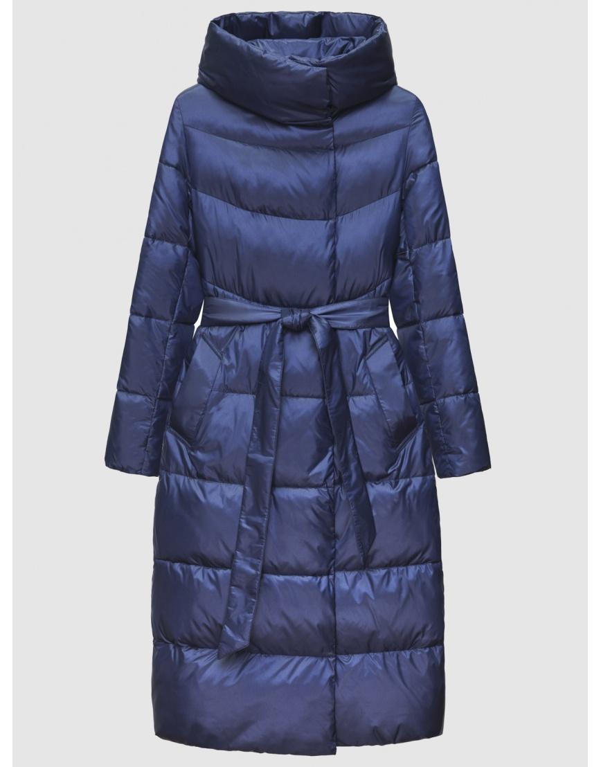 40 (3XS) – последний размер – куртка зимняя синяя длинная женская Braggart 200060 фото 1