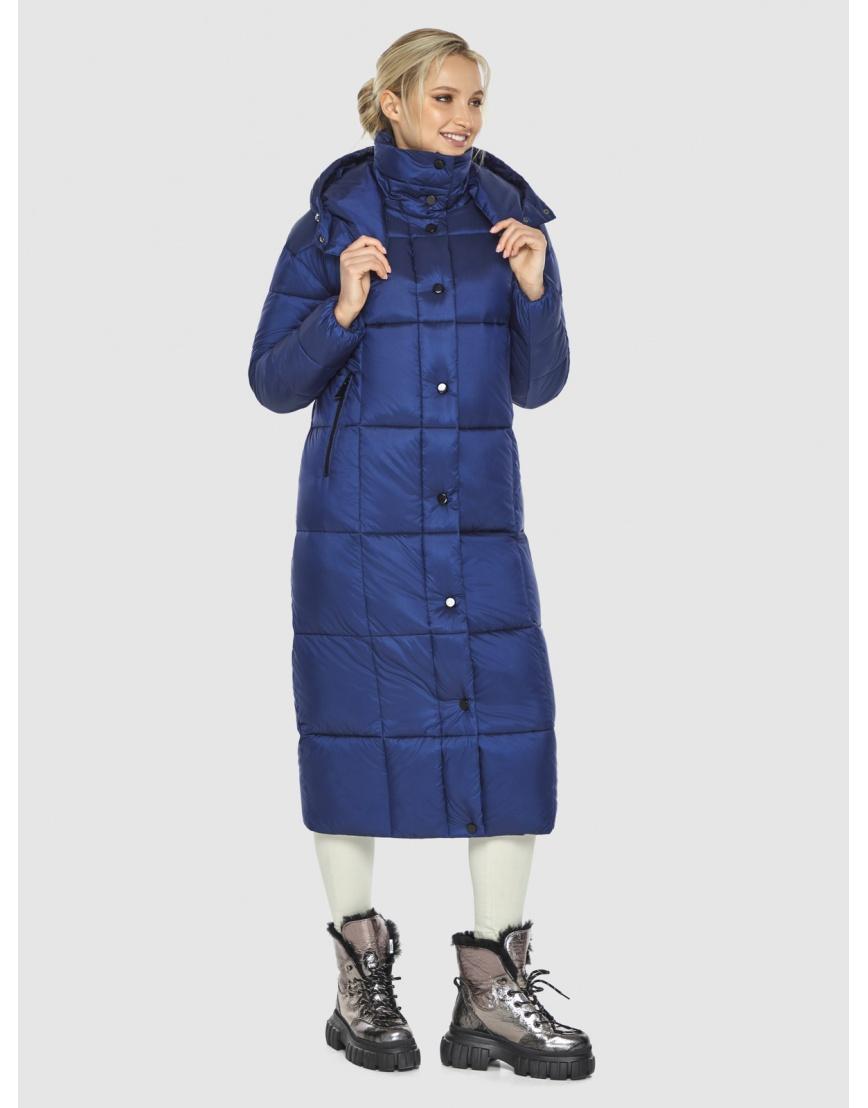 Синяя практичная куртка женская Kiro Tokao 60052 фото 6