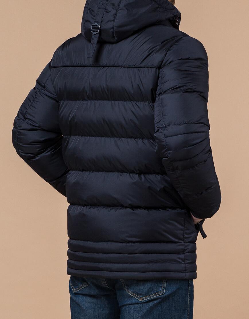 Темно-синяя качественная мужская куртка модель 31610