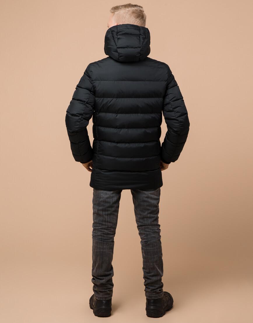 Графитовая куртка детская модная модель 65028 фото 4