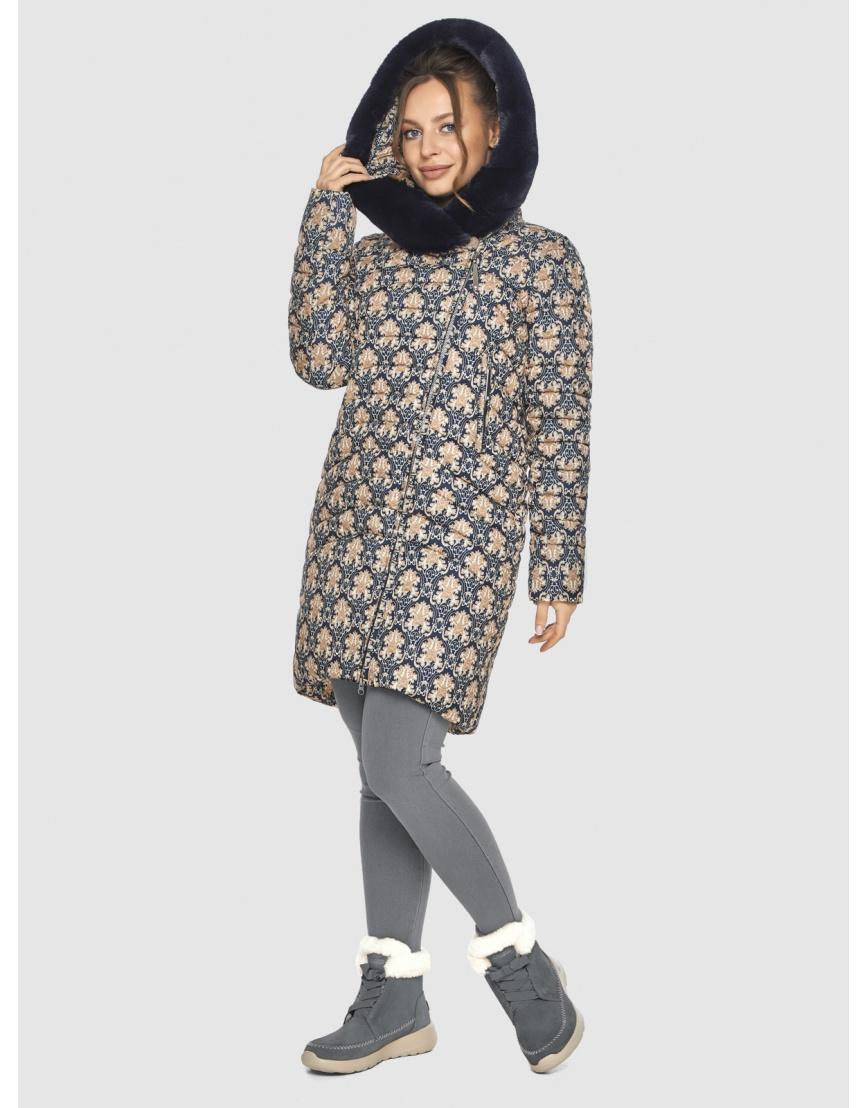 Куртка женская Ajento практичная с рисунком 24138 фото 5