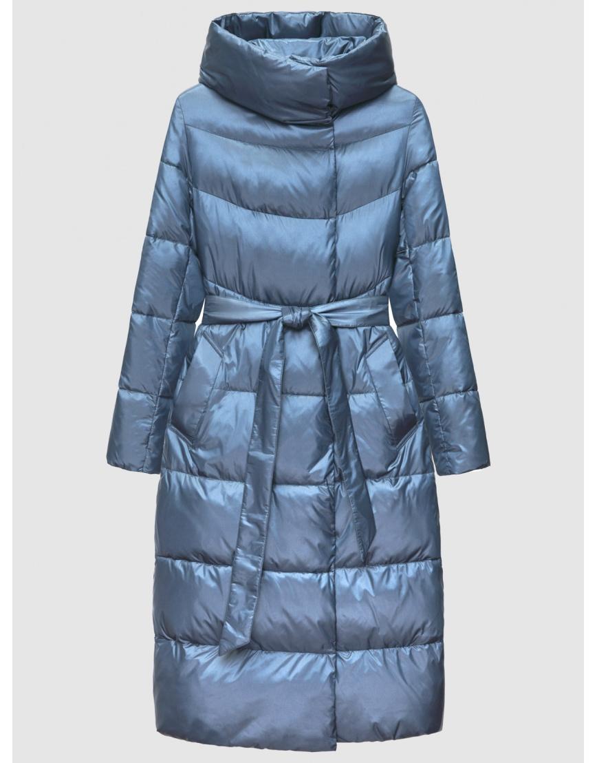 40 (3XS) – последний размер – куртка с капюшоном зимняя синяя женская Braggart 200060 фото 1