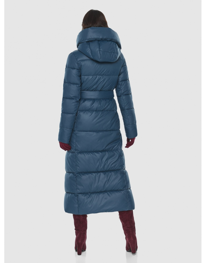 Брендовая женская синяя куртка Vivacana 8706/21 фото 4