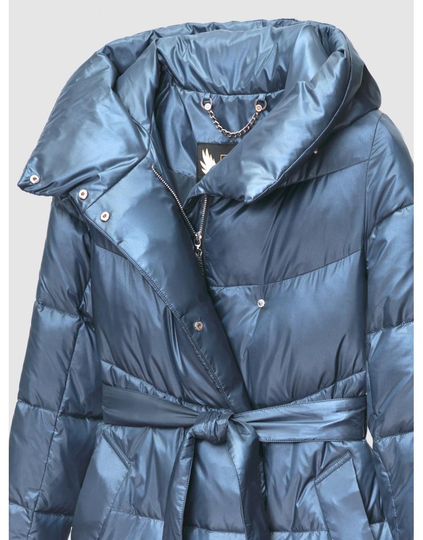 40 (3XS) – последний размер – куртка с капюшоном зимняя синяя женская Braggart 200060 фото 3