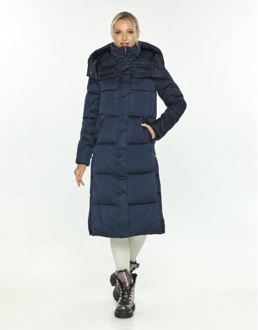 Комфортная синяя куртка зимняя женская Kiro Tokao 60024 фото 1