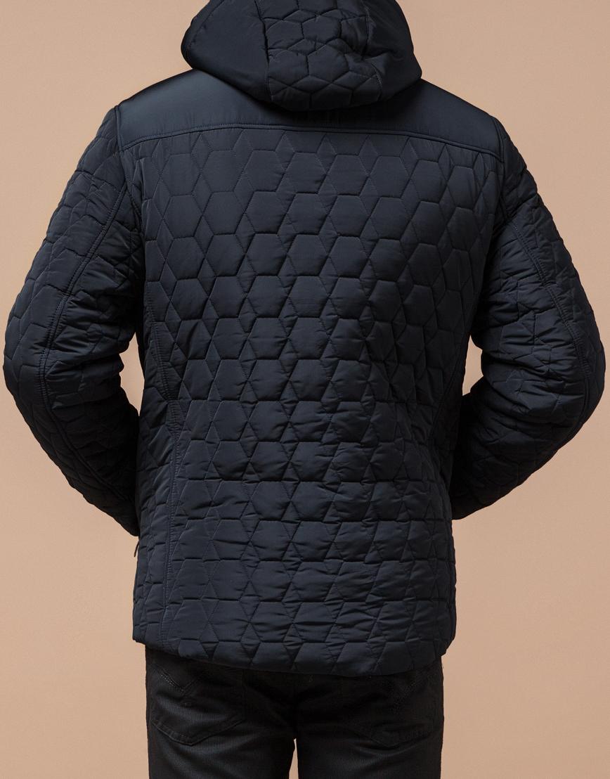 Куртка классическая темно-синяя модель 3570 фото 3
