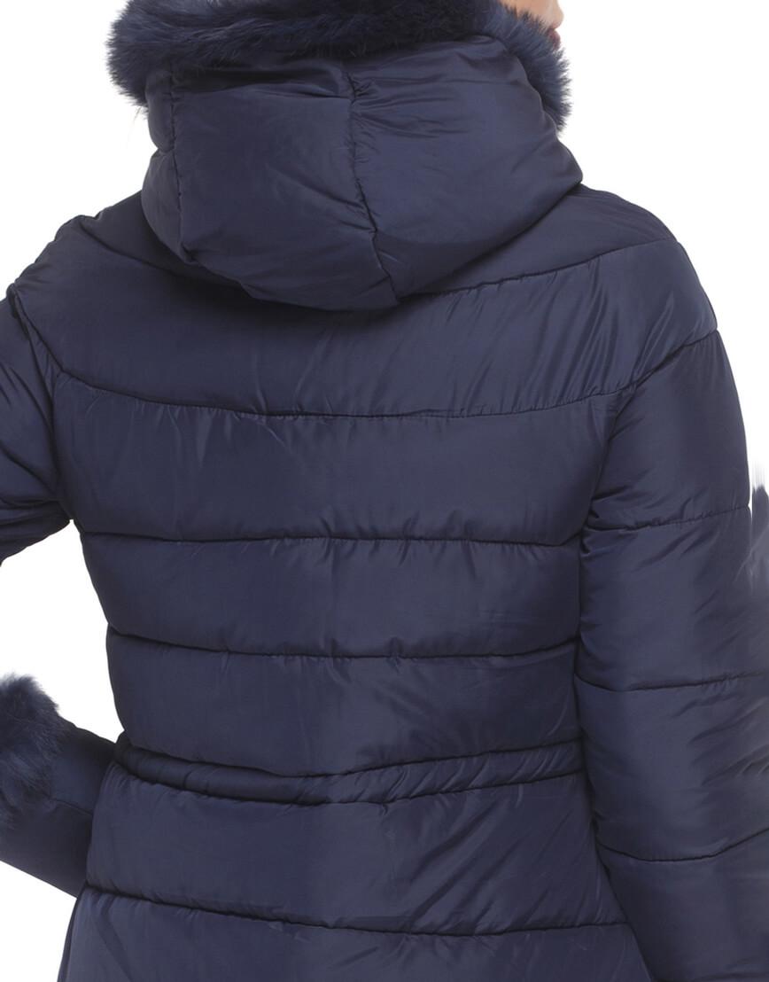 Куртка синего цвета качественная модель 2003 фото 6