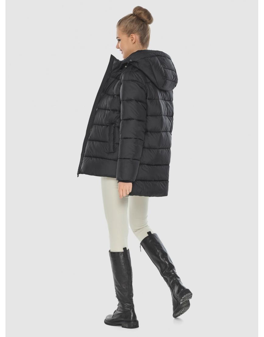 Куртка с молниями женская Tiger Force чёрная TF-50264 фото 4