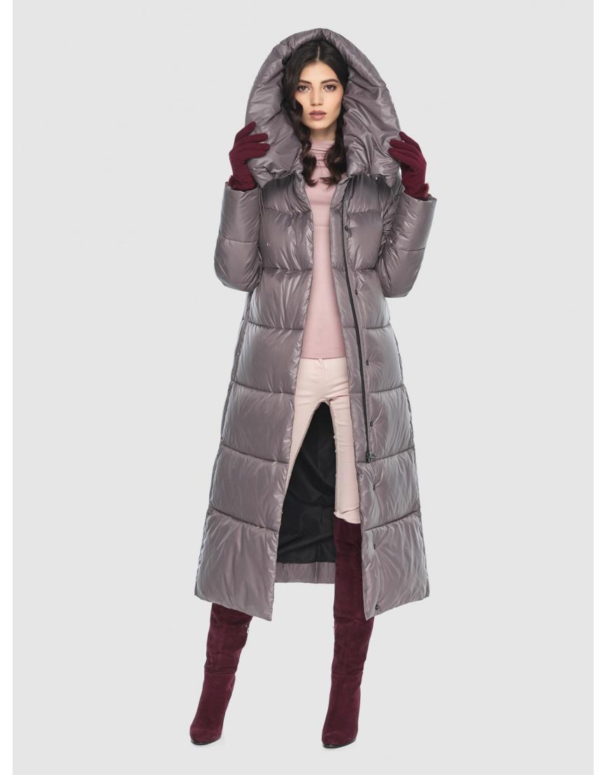 Куртка брендовая пудровая женская Vivacana 9150/21 фото 1