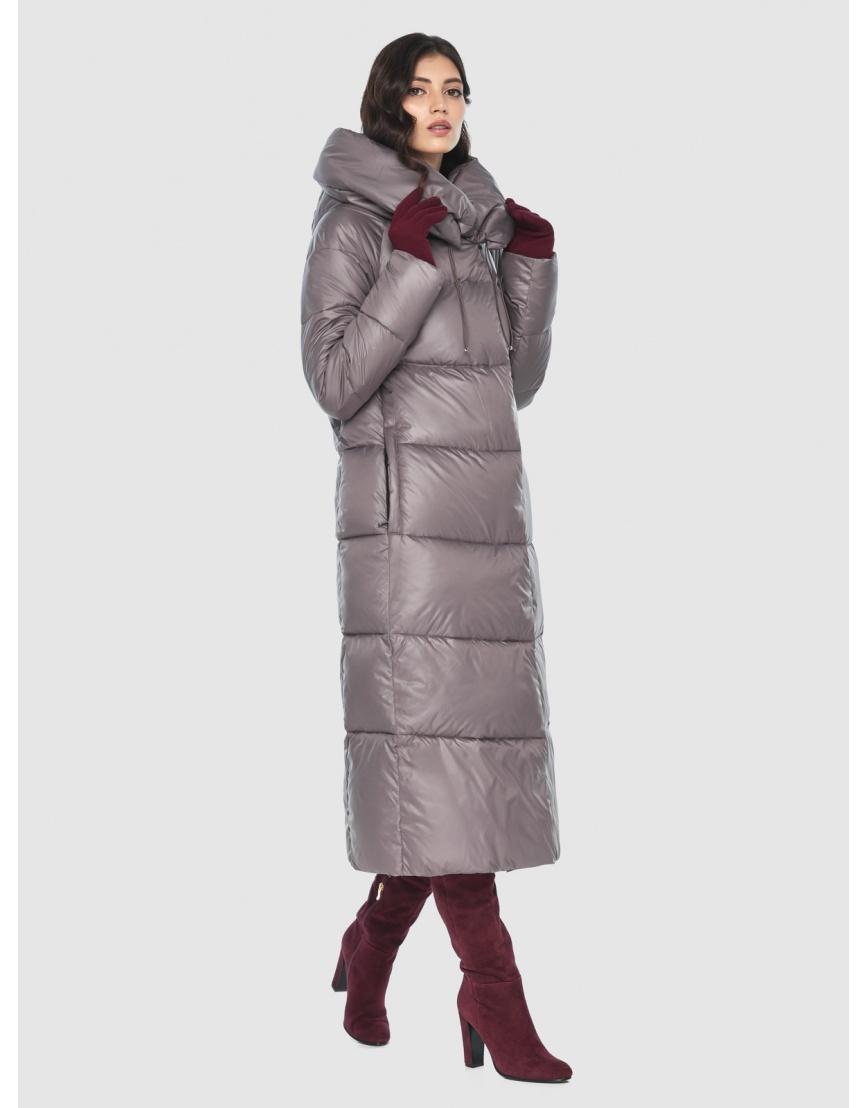 Куртка брендовая пудровая женская Vivacana 9150/21 фото 3