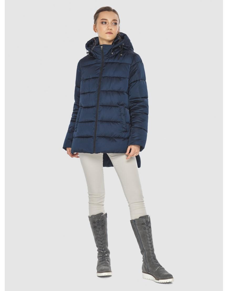Синяя короткая женская куртка Wild Club 526-85 фото 1