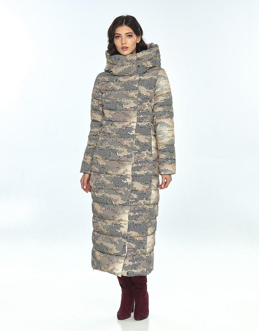 Куртка с рисунком женская Vivacana удобная зимняя 8320/21 фото 2