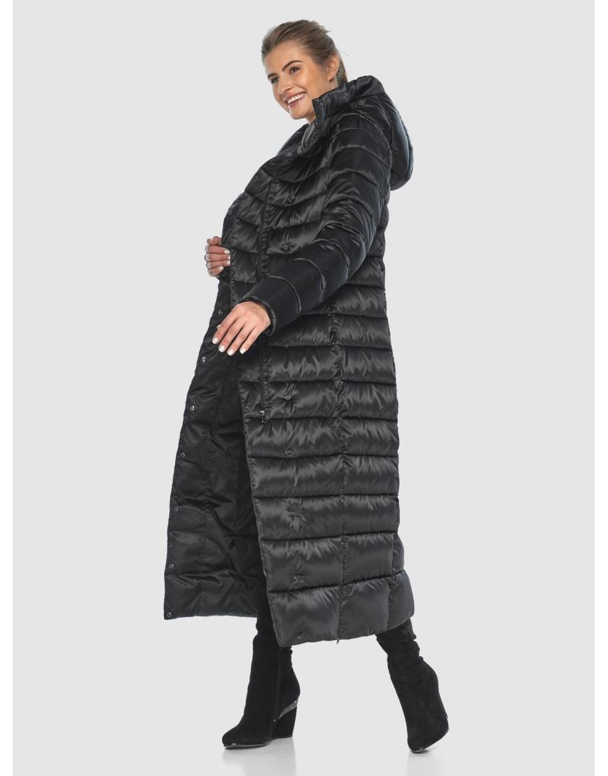 Чёрная модная куртка женская Ajento 23320 фото 2