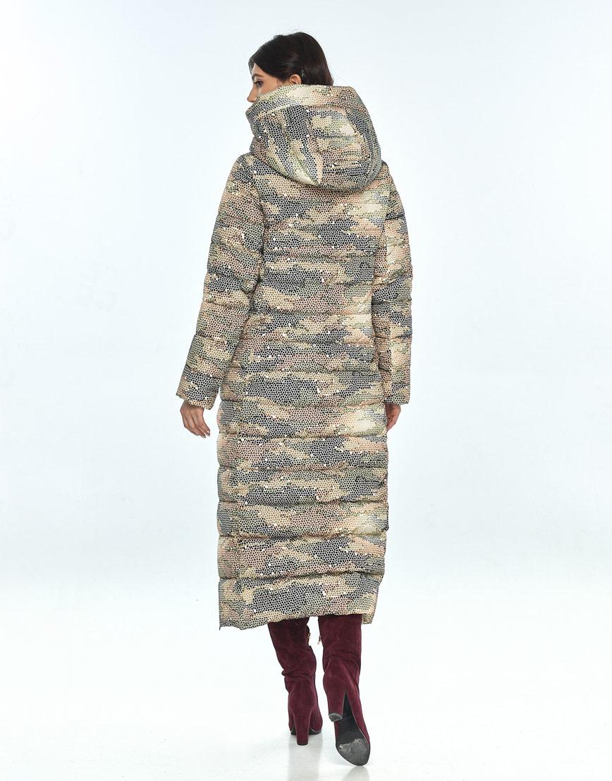 Куртка с рисунком женская Vivacana удобная зимняя 8320/21 фото 3