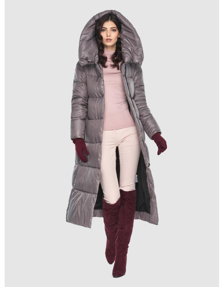 Куртка брендовая пудровая женская Vivacana 9150/21 фото 6