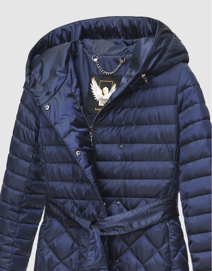 44 (XS) – последний размер – синяя куртка стёганая женская Braggart зимняя 200061 фото 3