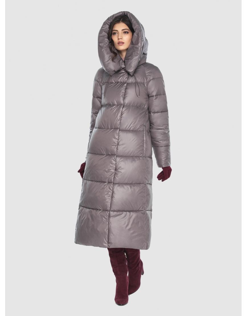 Куртка брендовая пудровая женская Vivacana 9150/21 фото 5