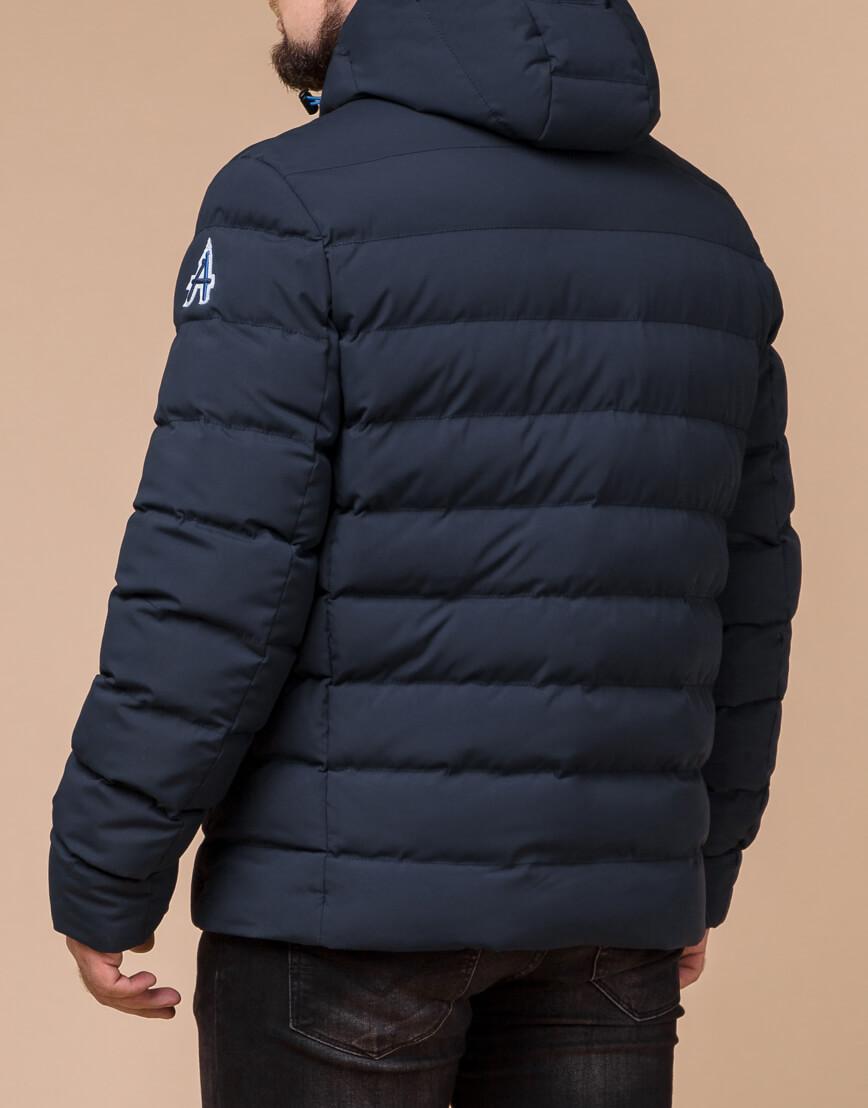 Мужская куртка на зиму цвет синий-электрик модель 45115 оптом