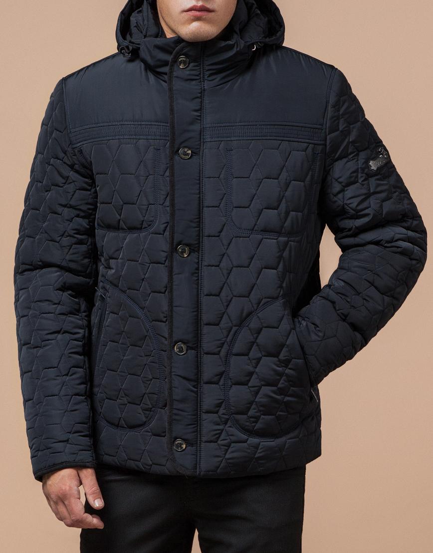 Куртка классическая темно-синяя модель 3570 фото 1