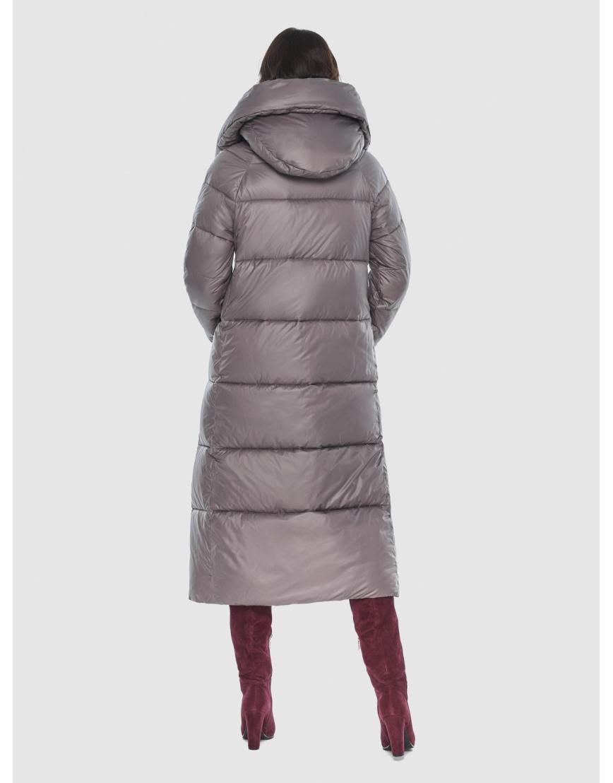 Куртка брендовая пудровая женская Vivacana 9150/21 фото 4