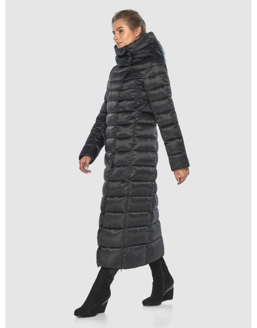 Чёрная модная куртка женская Ajento 23320 фото 6