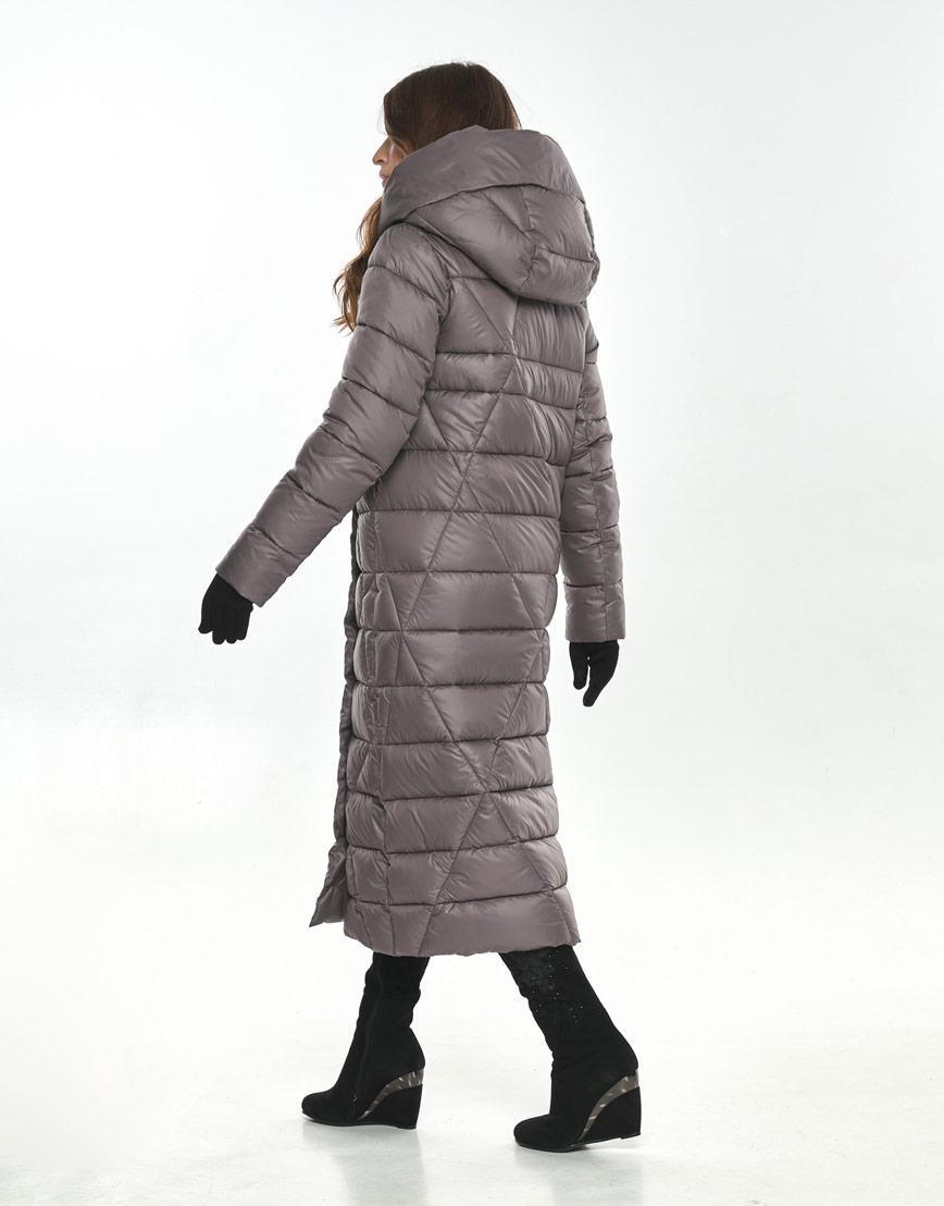 Стильная пудровая куртка большого размера женская Ajento 23795 фото 3