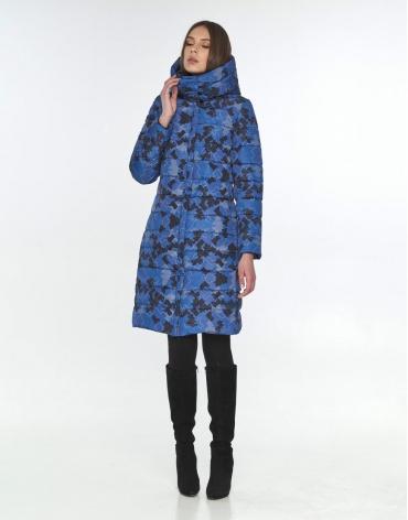 Куртка подростковая с рисунком Wild Club модная зимняя 522-65 фото 1