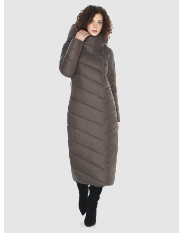 Капучиновая стильная куртка женская Moc M6471 фото 1