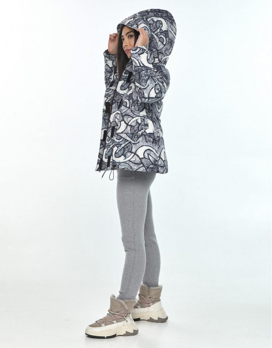 Комфортная зимняя куртка с рисунком женская Moc M6981 фото 2