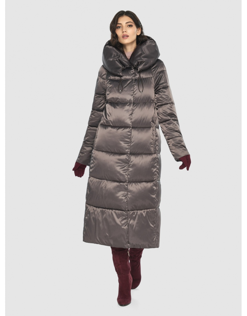 Куртка Vivacana люксовая капучиновая женская 9150/21 фото 5