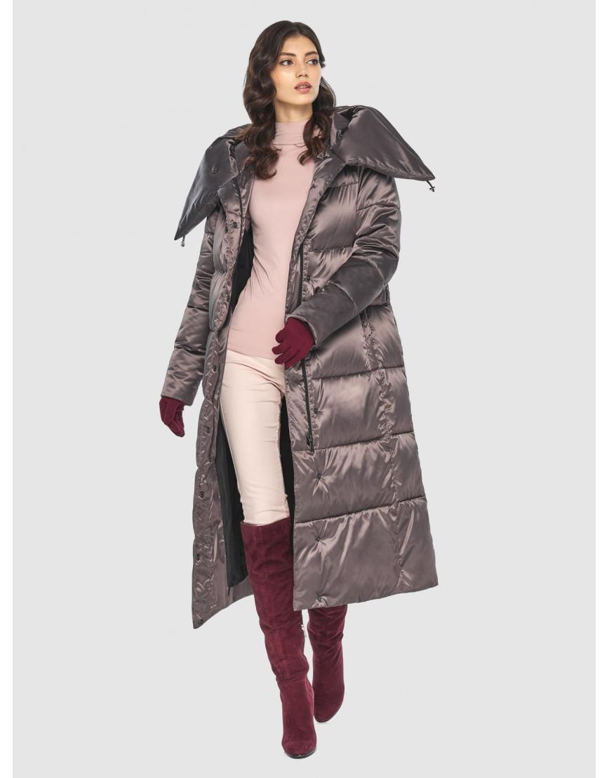 Куртка Vivacana люксовая капучиновая женская 9150/21 фото 6