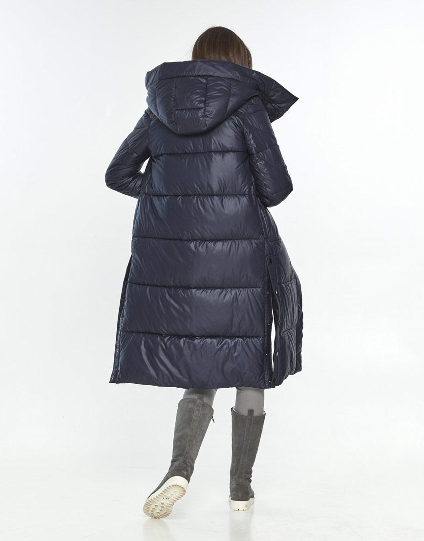 Куртка стильная женская Wild Club синяя зимняя 534-23 фото 3
