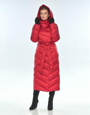 Женская красная куртка Ajento 23046 фото 1