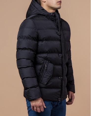 Куртка черного цвета трендовая модель 30380 фото 1