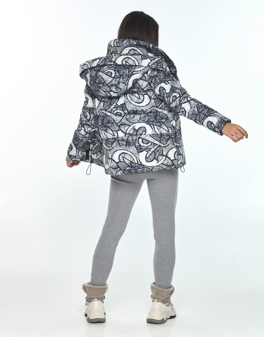 Комфортная зимняя куртка с рисунком женская Moc M6981 фото 3