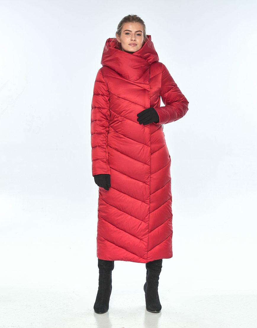 Женская красная куртка Ajento 23046 фото 2