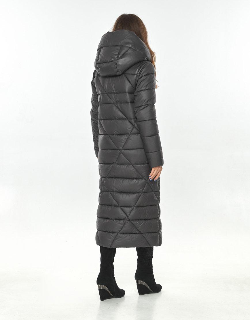 Трендовая женская серая куртка большого размера Ajento 23795 фото 3